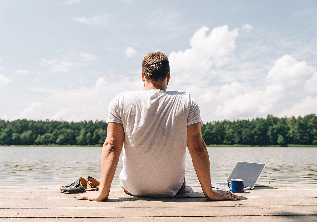Workation Trip at a lake
